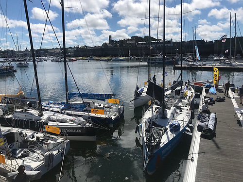 The Solo Concarneau 2020 fleet