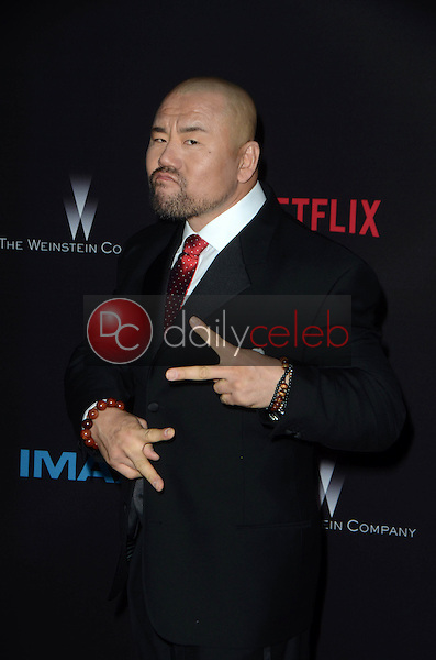 Woon Young Park<br /> at the &quot;Crouching Tiger, Hidden Dragon: Sword of Destiny&quot; Los Angeles Premiere, AMC Universal Citywalk, Universal City, CA 02-22-16<br /> David Edwards/Dailyceleb.com 818-249-4998