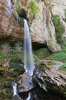 Europe/France/Aquitaine/64/Pyrénées-Atlantiques/Pays-Basque/Sainte-Engrâce: Gorges de Kakouetta, La cascade