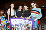 Clare Dowling, Maisie Hall, Andrea Dowling and Hannah Sharkey at the Strictly Young Dancing in the Ballyroe Heights Hotel on Saturday night.