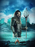 Aquaman (2018) <br /> Promotional art with Jason Momoa<br /> *Filmstill - Editorial Use Only*<br /> CAP/KFS<br /> Image supplied by Capital Pictures