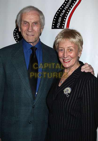 Peter Mark &amp; Helen Richman<br /> 13th annual Polish film festival at American Cinematheque's Egyptian Theatre, Hollywood, California, USA.<br /> 9th October 2012<br /> half length blue shirt suit jacket black tie<br /> CAP/ADM/RE<br /> &copy;Russ Elliot/AdMedia/Capital Pictures