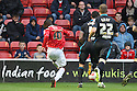 Craig Westcarr of Walsall scores their second goal<br />  - Walsall v Stevenage - Sky Bet League One - Banks's Stadium, Walsall - 19th October 2013. <br /> © Kevin Coleman 2013