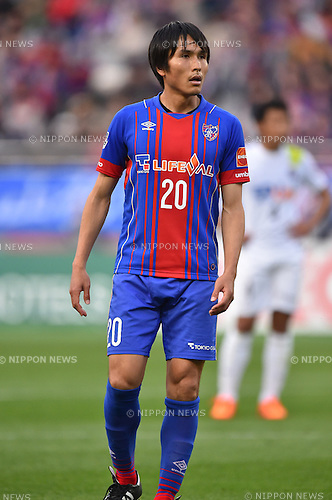 Ryoichi Maeda (FC Tokyo), APRIL 18, 2015 - Football /Soccer : 2015 J1 League 1st stage match between F.C. Tokyo 1-2 Sanfrecce Hiroshima at Ajinomoto Stadium in Tokyo, Japan. (Photo by AFLO)