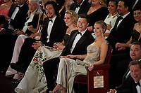Oscar® nominee, Adam Driver, Joanne Tucker, Colin Jost, and Oscar® nominee, Scarlett Johansson at The 92nd Oscars® at the Dolby® Theatre in Hollywood, CA on Sunday, February 9, 2020.<br /> *Editorial Use Only*<br /> CAP/AMPAS<br /> Supplied by Capital Pictures