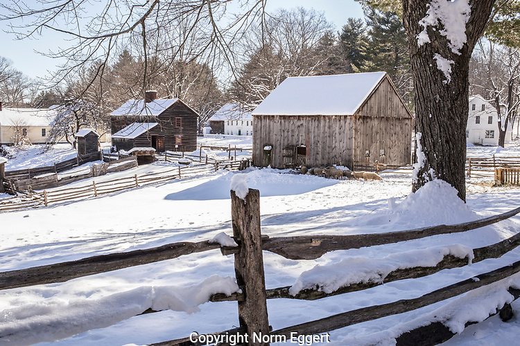 Winter at Old Sturbridge Village