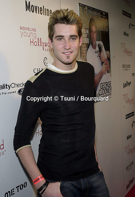 "Eric from No Authority arriving at the 3rd Movieline Magazine Young Hollywood Awards at the House of Blue  "" in Los Angeles  4/29/2001  © Tsuni          -            NoAuthority_Eric04.jpg"
