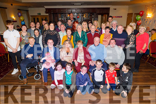 Rosarie Cronin from Tralee celebrating her 70th birthday in Kerin's O'Rahilly's on Saturday night.<br /> Seated l to r: Pa O'Shea, Kenneth, Hannah Mai, Evonne, Rosarie, Eddie and Trevor Cronin.