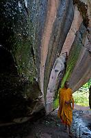 Poeung Komnou - Hidden archeological treasures in the Phnom Kulen AreaProvince of Siem Reap, Cambodia