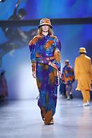 NOVA YORK,USA, 12.02.2019 - MODA-NOVA YORK - Modelo durante desfile da grife John John no New York Fashion Week (NYFW) em Nova York nesta terça-feira, 12. (Foto: Vanessa Carvalho/Brazil Photo Press)