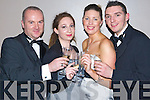 PARTY TIME: Bringing in the new year at the New Year's Eve gala ball held at the Malton Hotel, Killarney, on Monday were l-r: Liam Burke and Elaine Cronin (Millstreet), Carol Sheehan (Rathmore) and Denis Kelliher (Millstreet).   Copyright Kerry's Eye 2008