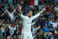 Champions League match between Real Madrid an Sporting Clube de Portugal