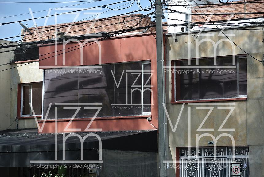 BOGOTÁ -COLOMBIA. 05-02-2014. En este inmueble, ubicado en el barrio Galerias de Bogotá, funcionaba un centro de intercetación de comunicaciones al cual se le denominaba con el nombre clave de 'Andrómeda' por parte del Ejército Nacional y que habría tenido como blanco a los negociadores de paz del gobierno, que actualmente se encuentran en La Habana, tal como estableció una investigación revelada por la Revista Semana en su página web./ In this property, located in the district of Galleries in Bogota, operated a communications interception center which it was called with the code name 'Andromeda' by the national army and who would be targeting the government peace negotiators , currently located in Havana, as established by an investigation revealed by 'Semana' magazine on its website  Photo: VizzorImage