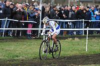 WIELRENNEN: SURHUISTERVEEN: 03-01-2013, 18e Centrumcross, winnares Marianne Vos, ©foto Martin de Jong