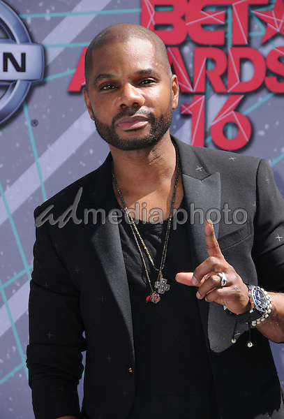 26 June 2016 - Los Angeles. Kirk Franklin. Arrivals for the 2016 BET Awards held at the Microsoft Theater. Photo Credit: Birdie Thompson/AdMedia