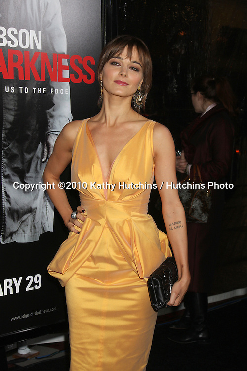 "Bojana Novakovic.arriving at the premiere of the ""Edge of Darkness"".Grauman's Chinese Theater.Los Angeles, CA.January 26, 2010.©2010 Kathy Hutchins / Hutchins Photo...."