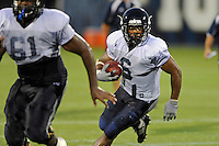 12 August 2011:  FIU's Jeremiah Harden (6) carries the ball during a scrimmage held as part of the FIU 2011 Panther Preview at University Park Stadium in Miami, Florida.