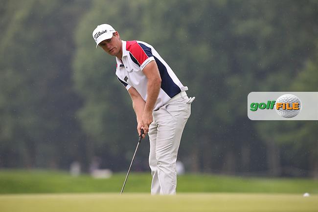 Lucas Bjerregaard (DEN) managed just a 71 during Round Three of the 2015 BMW International Open at Golfclub Munchen Eichenried, Eichenried, Munich, Germany. 27/06/2015. Picture David Lloyd | www.golffile.ie