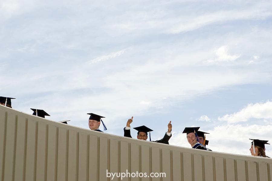 0608-30 August Commencement..Summer Graduation..Photo by Jaren Wilkey/BYU..Copyright BYU Photo 2006.All Rights Reserved.photo@byu.edu  (801)422-7322