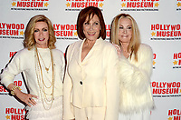 """LOS ANGELES - JAN 18:  Donna Mills, Michele Lee, Joan Van Ark at the 40th Anniversary of """"Knots Landing"""" Exhibit at the Hollywood Museum on January 18, 2020 in Los Angeles, CA"""