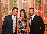 Alejandro Monteverde, Ali Landry and Eduardo Verastegui attend Healthy Child Healthy World's L.A. Gala on Oct. 27, 2016 (Photo by Inae Bloom/Guest of a Guest)