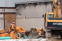 Construction is underway at the former St. Clair Secondary School site.