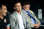 RCD Espanyol coach Joan Francesc Ferrer during La Liga match between Real Madrid and RCD Espanyol at Santiago Bernabeu Stadium in Madrid, Spain. September 22, 2018. (ALTERPHOTOS/Borja B.Hojas)