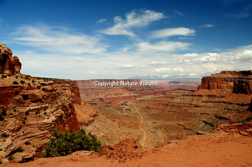 SHAFER CANYON AND TRAIL<br /> CANYONLANDS NATIONAL PARK, UTAH