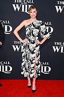 HOLLYWOOD, CA - FEBRUARY 13; Hayley Erin at The Call Of The Wild World Premiere on February 13, 2020 at El Capitan Theater in Hollywood, California. Credit: Tony Forte/MediaPunch