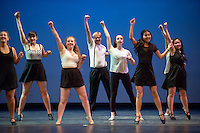 Dress rehearsal for Dance Production, March 17, 2016 in Thorne Hall. The Occidental College tradition is one of the most popular events on campus and incorporates many styles of dance.<br /> (Photo by Marc Campos, Occidental College Photographer)