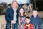 """Stars In Their Eyes: Attending then """"Stars in Their Eyes"""" event at Asdee Community Centre on Friday nigh last were Anne Marie O'Mahony, Lauren Costello & Paul & Adam O'Mahony."""