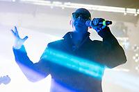 Andrew Eldritch von The Sisters of Mercy live im Docks. Hamburg, 07.09.2017