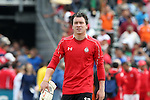 26 March 2016: Toluca's Miguel Centeno (MEX). The Carolina RailHawks of the North American Soccer League hosted Deportivo Toluca Futbol Club of LigaMX at WakeMed Stadium in Cary, North Carolina in an international friendly club soccer match. Toluca won the game 3-0.