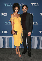 04 January 2018 - Pasadena, California - Amber Stevens West, Andrew J. West. 2018 Winter TCA Tour - FOX All-Star Party held at The Langham Huntington Hotel. <br /> CAP/ADM/FS<br /> &copy;FS/ADM/Capital Pictures