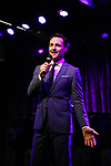 performing onstage at Birdland Theater during the Media Open House Cocktail Party at the Birdland Theater on September 20, 2018 in New York City.