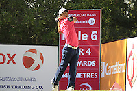 Thorbjorn Olesen (DEN) tees off the 6th tee during Friday's Round 3 of the Commercial Bank Qatar Masters 2013 at Doha Golf Club, Doha, Qatar 25th January 2013 .Photo Eoin Clarke/www.golffile.ie