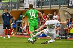 20.07.2017, Silberstadt Arena, Schwaz, AUT, FSP, Borussia M&ouml;nchengladbach vs Leeds United, im Bild Foul von hinten Louis Beyer (Gladbach #14), Stuart Dallas (Leeds #15)<br /> <br /> Foto &copy; nordphoto / Hafner