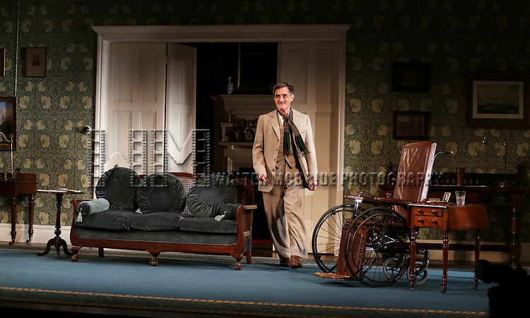 Roger Rees during the Opening Night Curtain Call for 'The Winslow Boy'  at the American Airlines Theatre on October 17, 2013 in New York City.