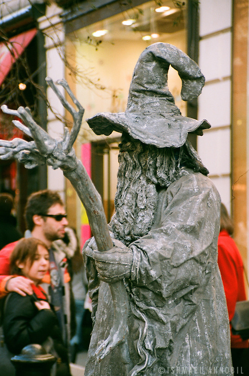 Living Statue, Covent Garden, London