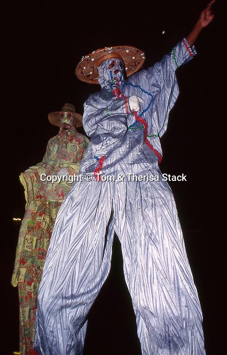 Mocko Jumbie, stilt walkers, St. Croix, Carnival