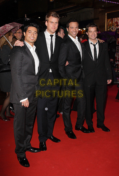 "TEATRO.European Premiere of ""Fred Claus"" at the Empire Cinema, Leicester Square, London, England, November 19th 2007.full length black suits.CAP/ROS.©Steve Ross/Capital Pictures"