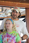 One Life To Live Thorsten Kaye and daughter McKenna at SoapFest's Celebrity Weekend - Cruisin' and Schmoozin' on the Marco Island Princess - mix and mingle and watching dolphins - autographs, photos, live auction raising money for kids on November 11, 2012 Marco Island, Florida. (Photo by Sue Coflin/Max Photos)
