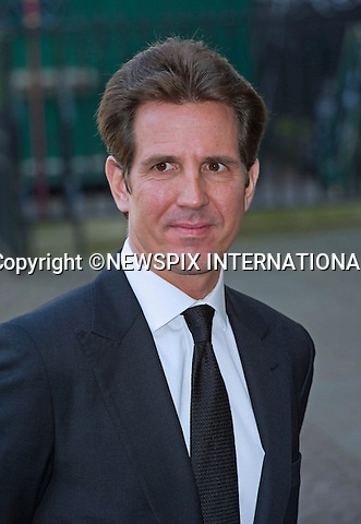 CROWN PRINCE PAVLOS OF GREECE<br /> attends Sir David Frost Memorial, Westminster Abbey, London_13/03/2014<br /> Mandatory Credit Photo: &copy;Dias/NEWSPIX INTERNATIONAL<br /> <br /> **ALL FEES PAYABLE TO: &quot;NEWSPIX INTERNATIONAL&quot;**<br /> <br /> IMMEDIATE CONFIRMATION OF USAGE REQUIRED:<br /> Newspix International, 31 Chinnery Hill, Bishop's Stortford, ENGLAND CM23 3PS<br /> Tel:+441279 324672  ; Fax: +441279656877<br /> Mobile:  07775681153<br /> e-mail: info@newspixinternational.co.uk