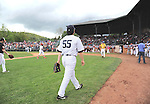 Hideki Matsui (Yankees), MAY 24, 2014 - MLB : Former New York Yankees player Hideki Matsui in action during the Hall of Fame Classic baseball game in Cooperstown, New York, United States. (Photo by AFLO)