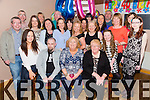 Julet Brook, Castleisland, celebrates her 40th birthday with family and friends at the Half Barrel Castleisland on Friday