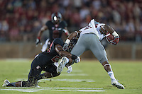 Stanford, CA - October 8, 2016: Alameen Murphy during the Stanford vs Washington State football game at Stanford Stadium. The Cougars defeated the Cardinal 42-16.