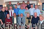 Paddy Dempsey(seated 3rd from the Lt)from Caherina Cottages Tralee,celebrated his 75th birthday last Thursday night May 28th in the Kerins O'Rahillys GAA clubhouse Strand Rd Tralee with some of the All Time Greats,(seated)L-R Mike Griffin,Richard Fitzell,Paddy Dempsey,John O Leary,John Savage and Tom O Connor(2nd row)L-R James Hayes,Seamus McCarthy,Tim Scanlon,Tom O Shea,Fred Browne,Martina Dempsey,Sean Walsh and Pat Tuohy.(back)L-R Tom Foley,Michael Herlihy,Pat Keane and Paul ?.