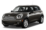Front three quarter view of a 2011 - 2014 Mini Cooper Countryman SUV.
