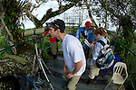 Jared Baxa On Canopy Tower, Tiputini