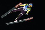 Jakub Kot (POL) competes during the Normal Hill Ski Jumping event as part of the Winter Universiade Trentino 2013  in Predazzo.<br /> &copy; Pierre Teyssot